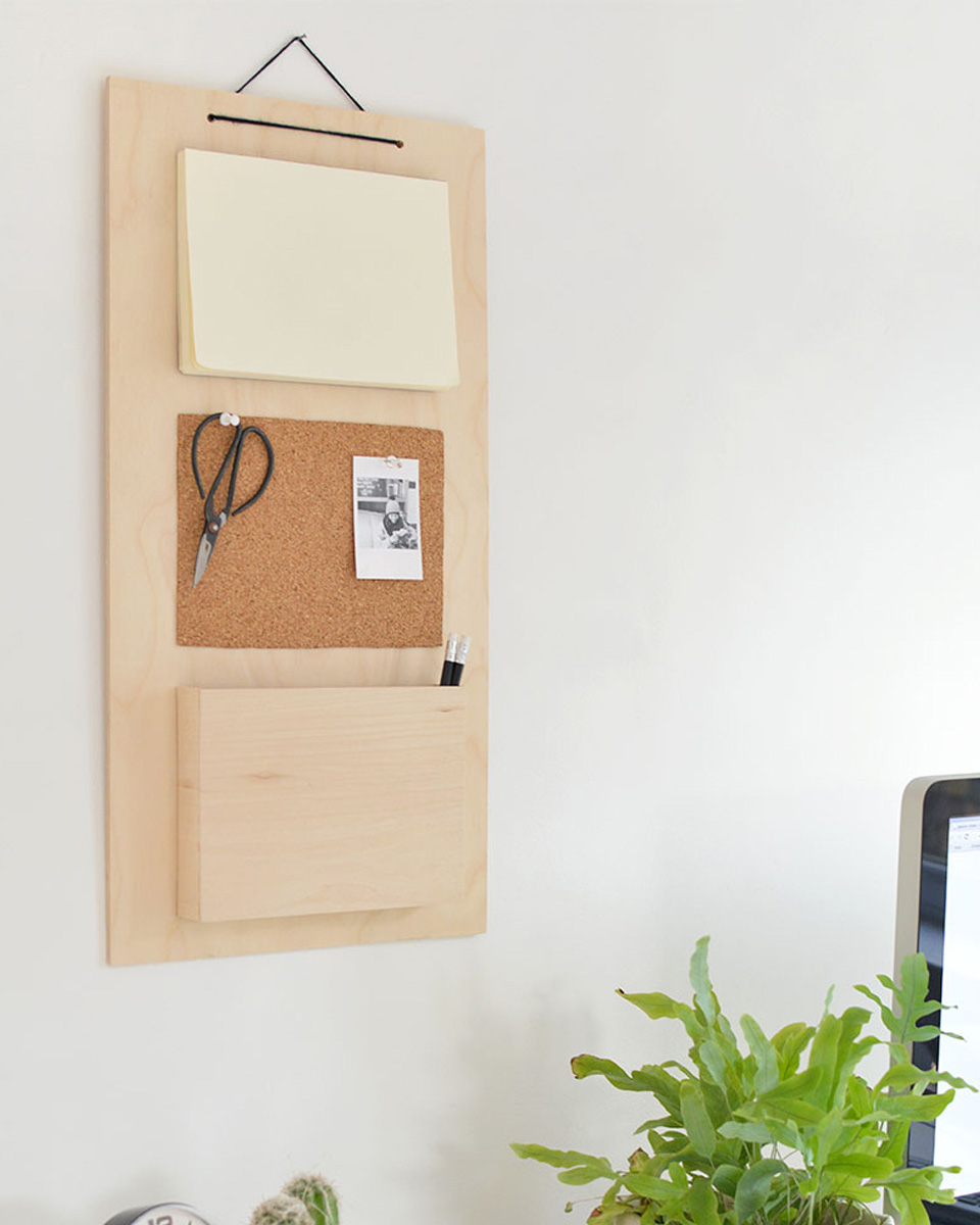 idée diy bureau organiseur