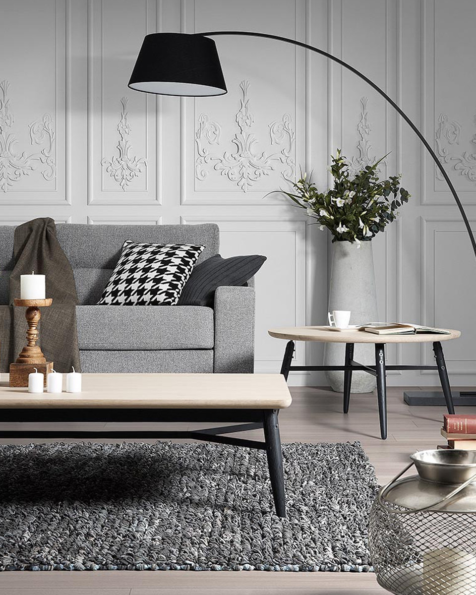 deco table basse ronde