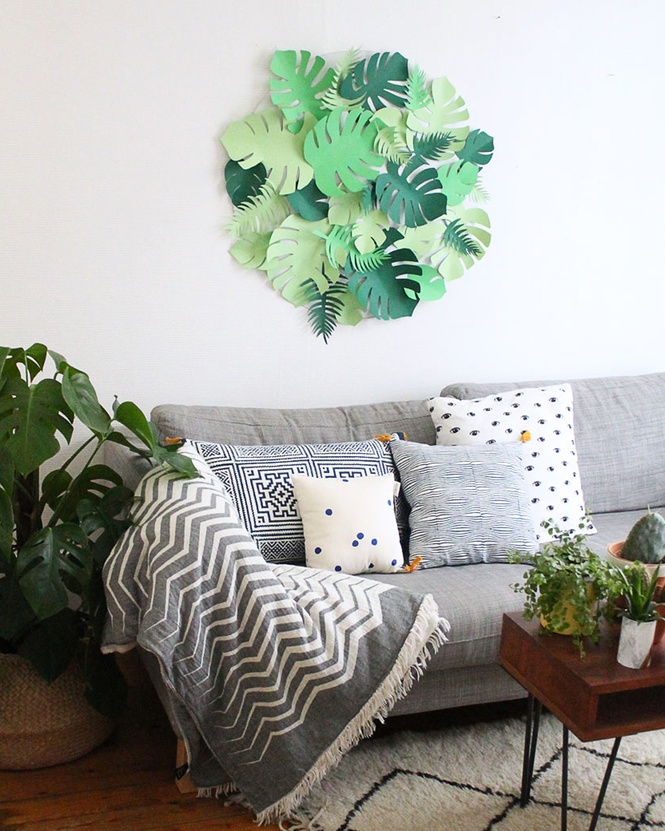 Comment utiliser les plantes dans sa d co shake my blog for Decoration murale vegetale