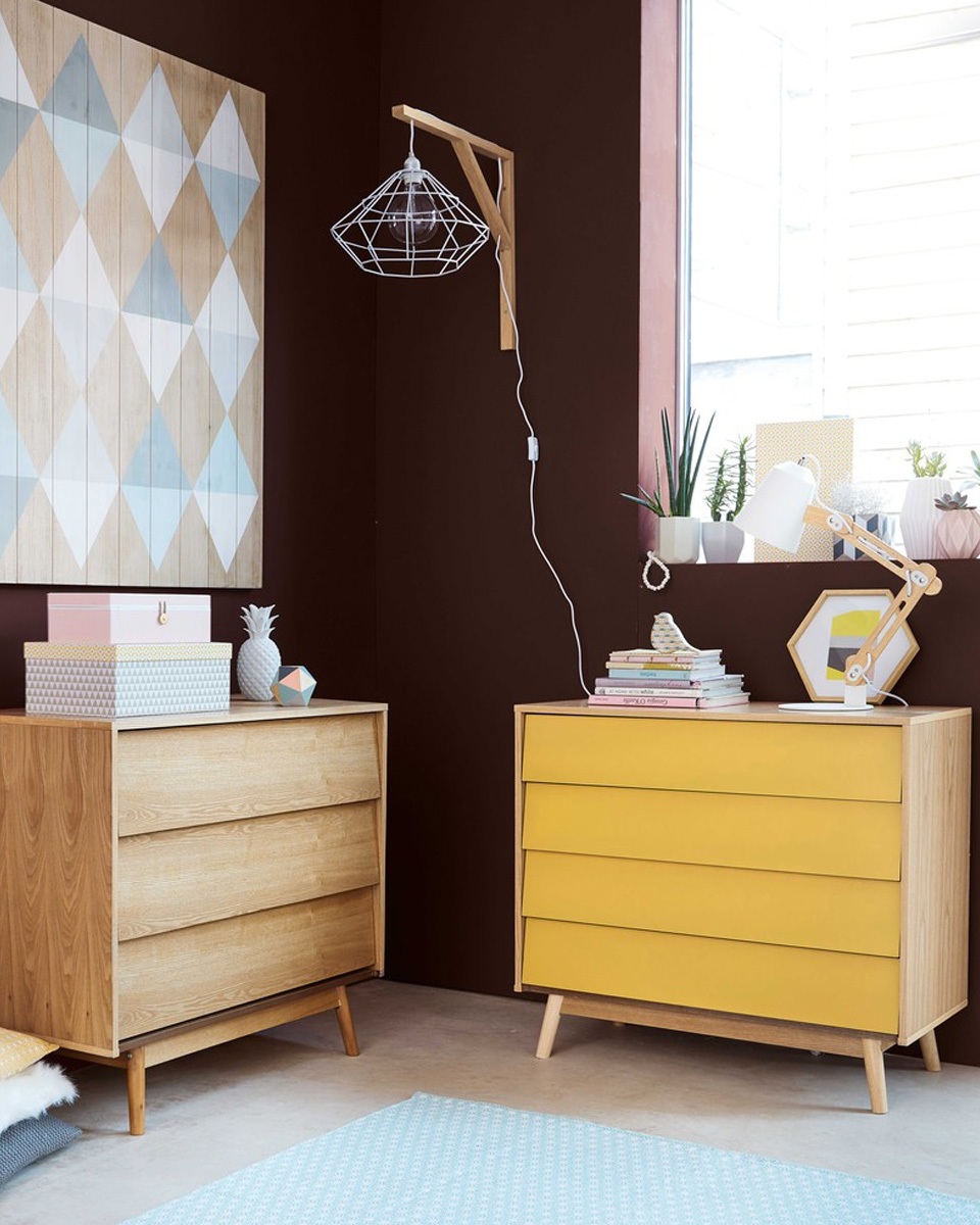 deco jaune commode