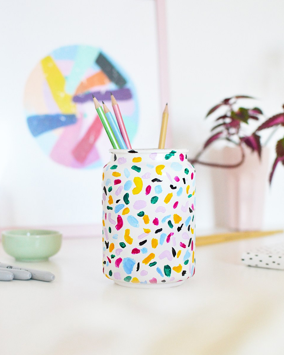 diy rentree scolaire pot crayon