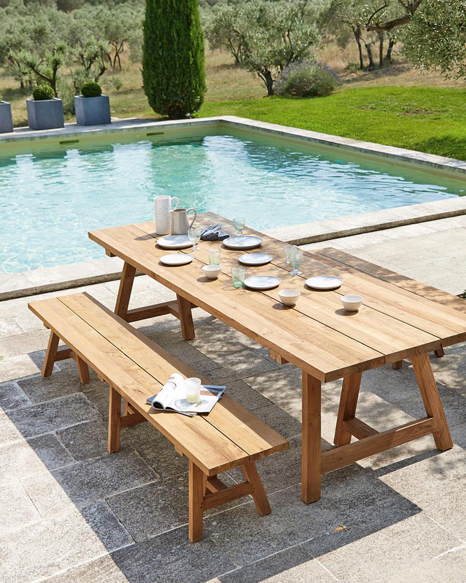 ma s lection d co de tables de jardin shake my blog. Black Bedroom Furniture Sets. Home Design Ideas