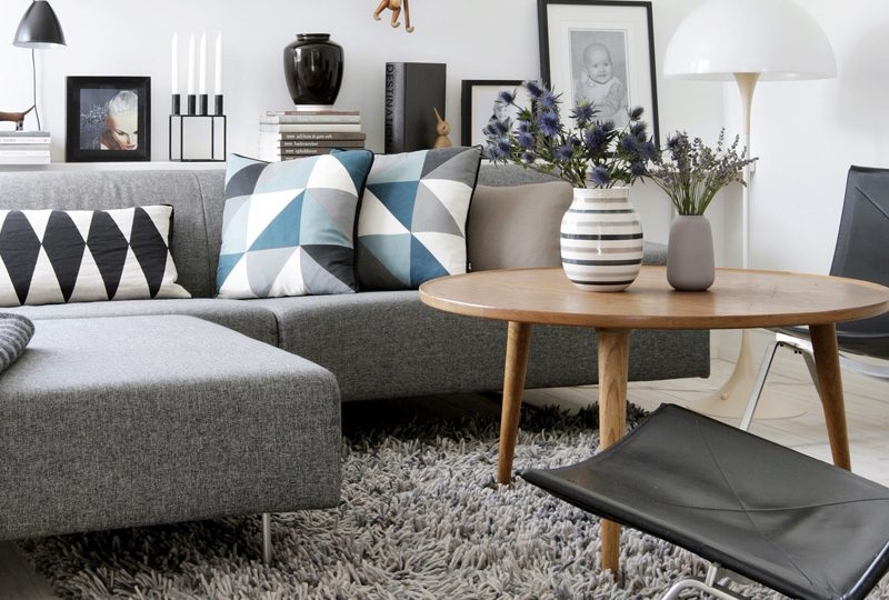 canape deco salon scandinave