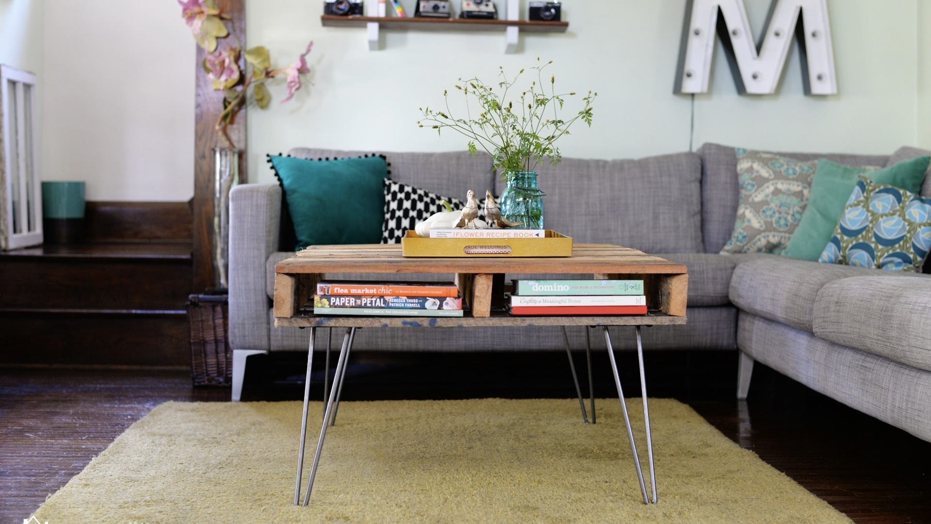 diy pied epingle table basse