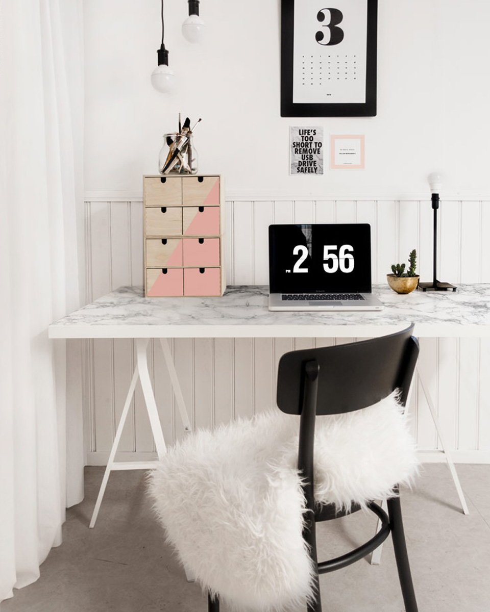 5 astuces pour la d co d un studio d tudiant shake my blog. Black Bedroom Furniture Sets. Home Design Ideas