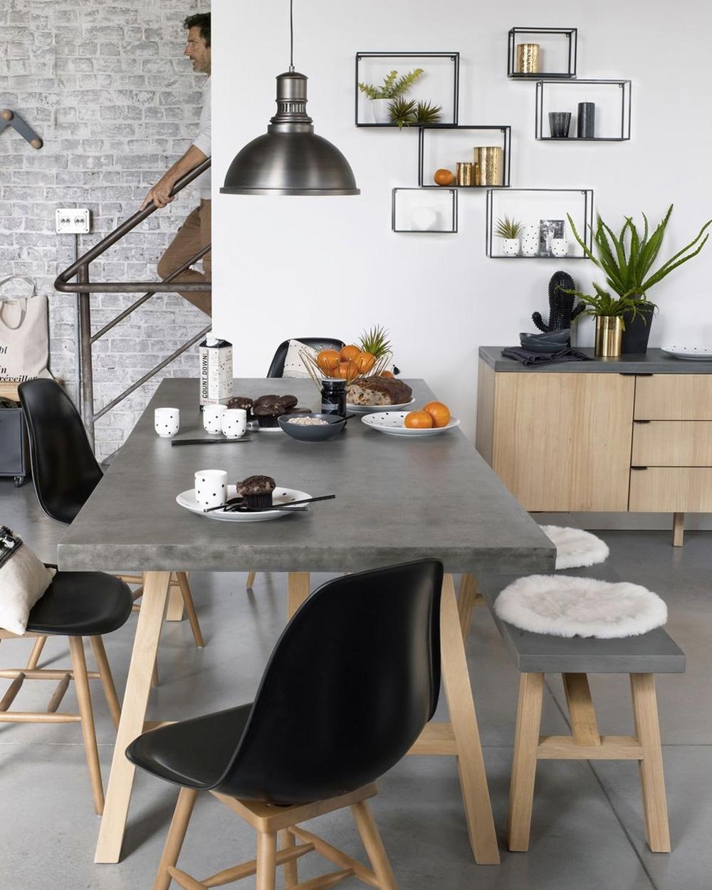 comment utiliser le b ton dans sa d co shake my blog. Black Bedroom Furniture Sets. Home Design Ideas