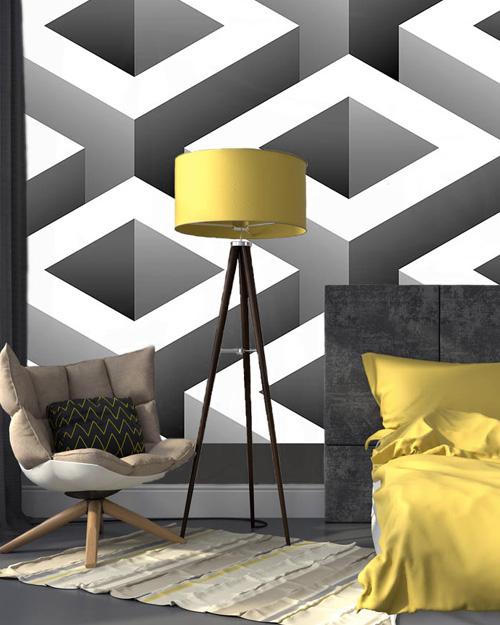 6 id es pour d corer vos murs en noir et blanc shake my blog. Black Bedroom Furniture Sets. Home Design Ideas