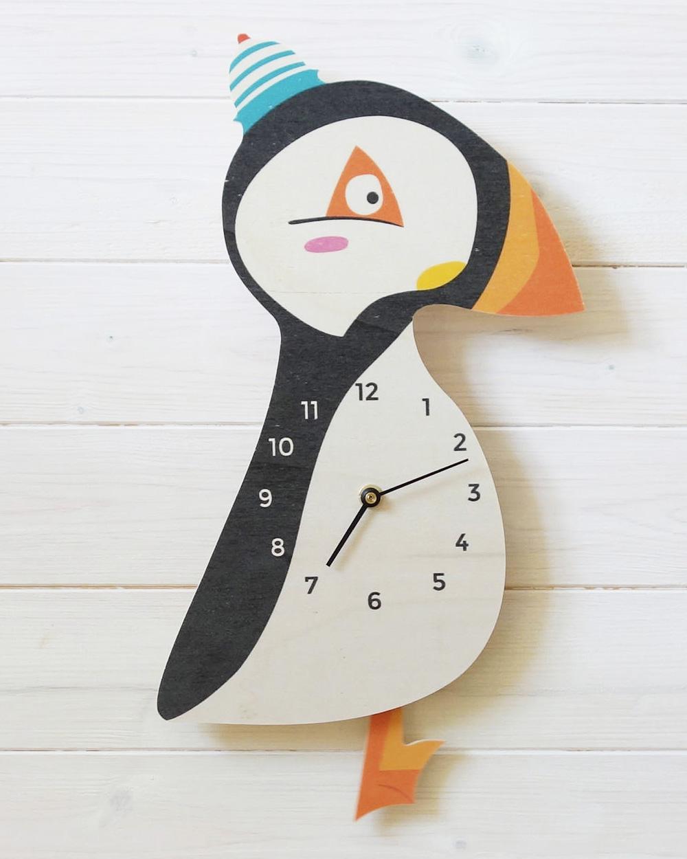 horloge diy enfant