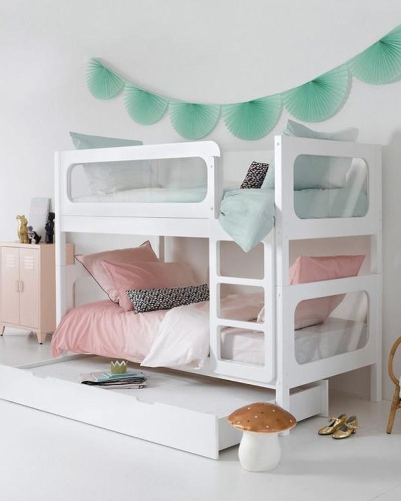 deco chambre double enfant lit superposé