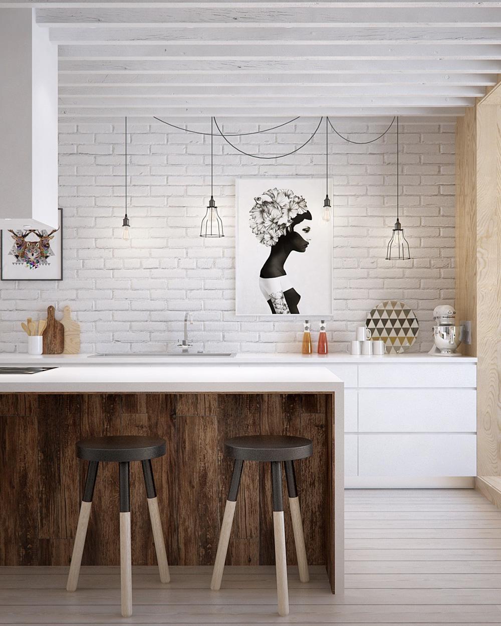 10 idées déco pour utiliser la brique dans sa maison | Shake My Blog
