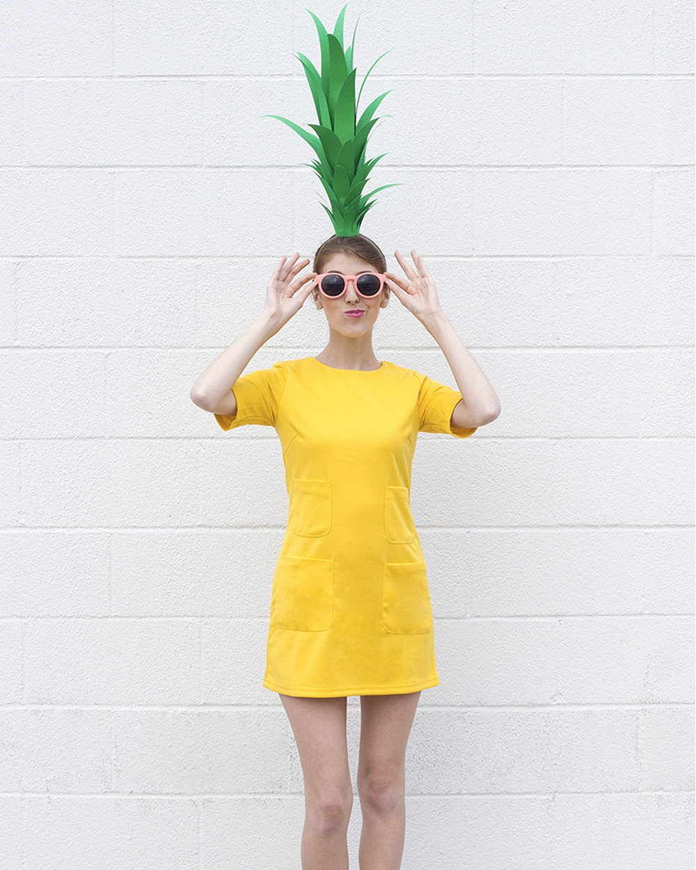 déguisement halloween diy ananas