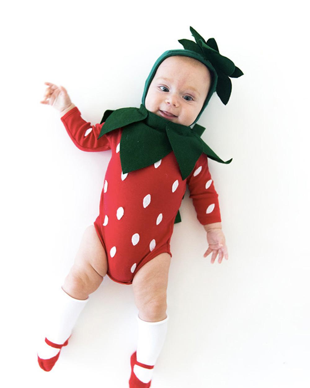 déguisement halloween diy fraise