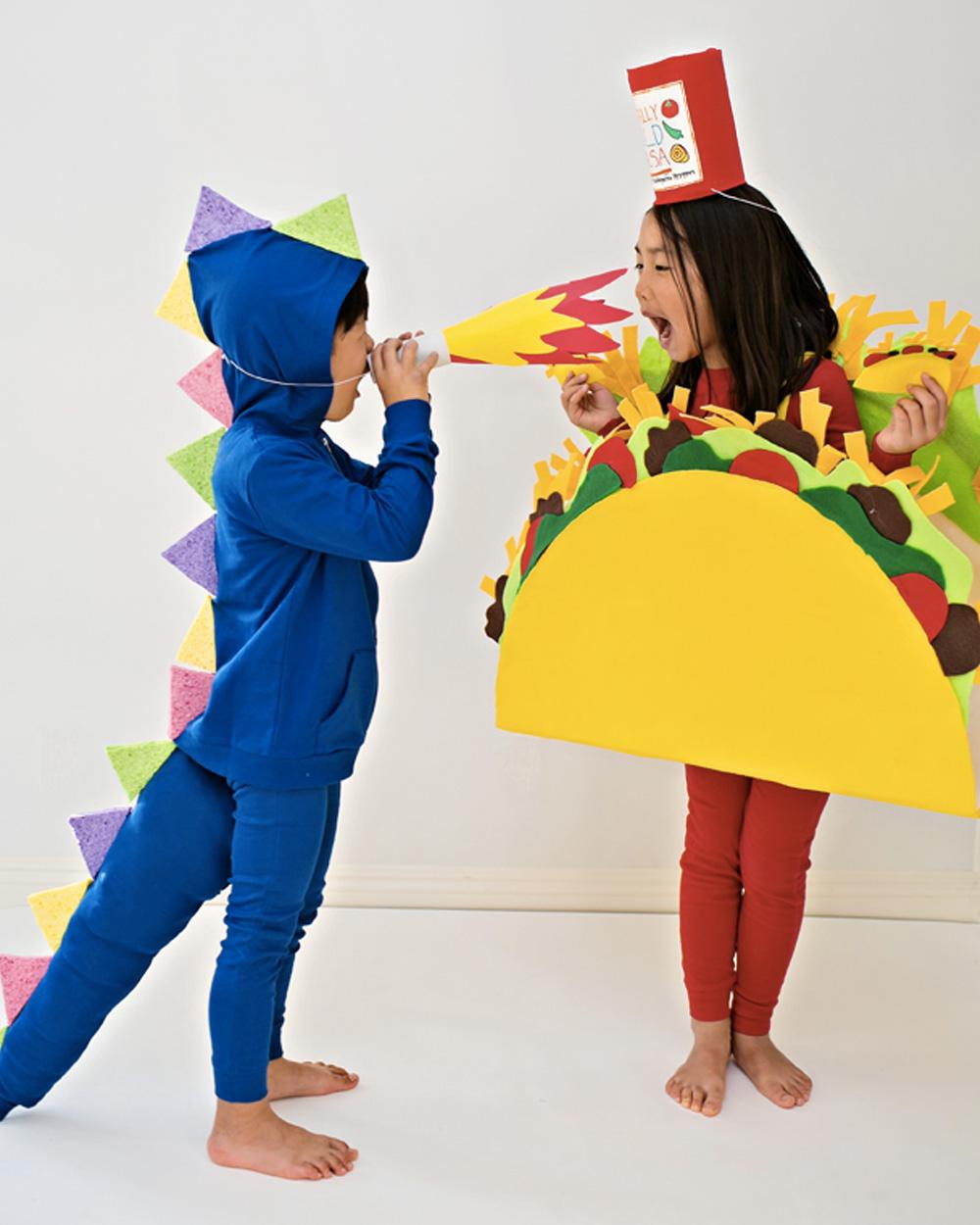 déguisement halloween diy taco