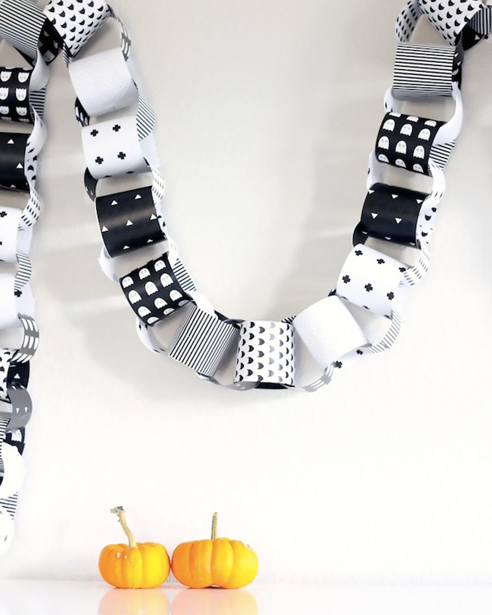 printable diy halloween guirlande