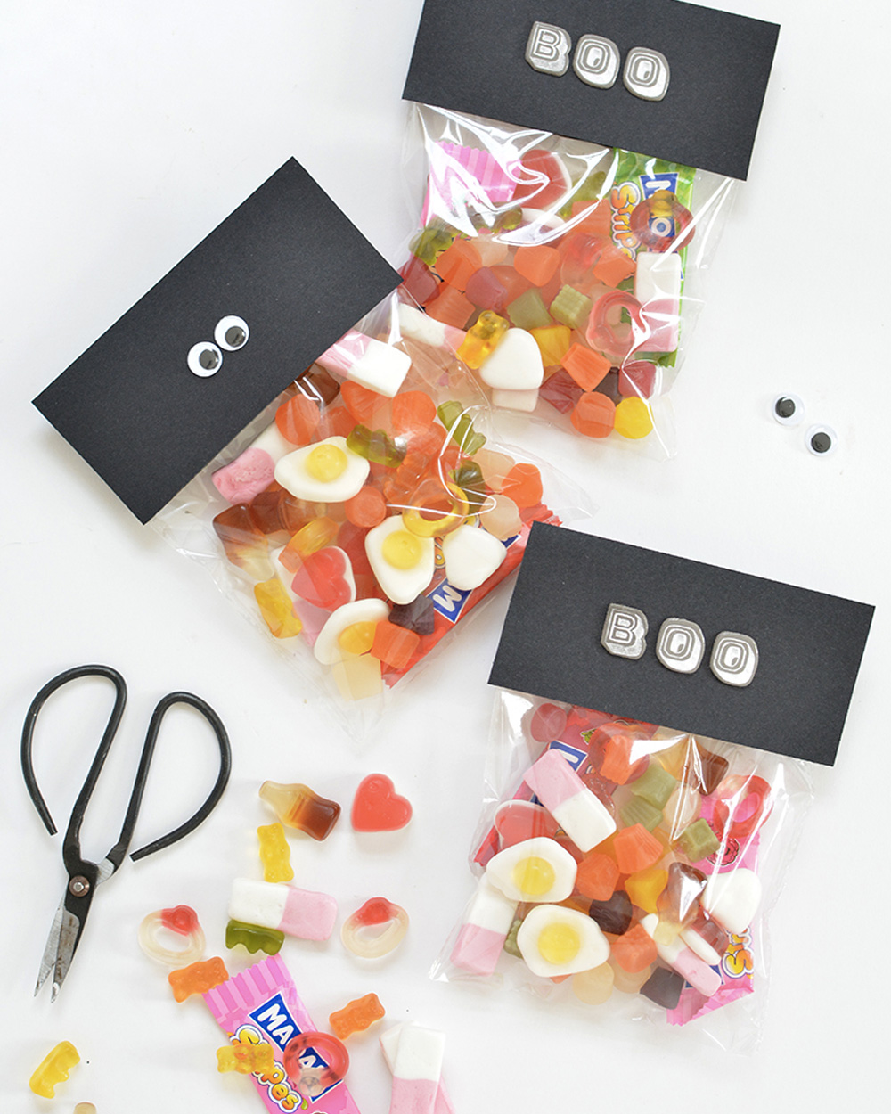printable diy halloween sachet bonbon