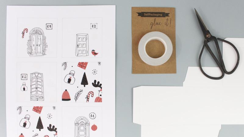 mon calendrier de l 39 avent diy avec self packaging shake my blog. Black Bedroom Furniture Sets. Home Design Ideas