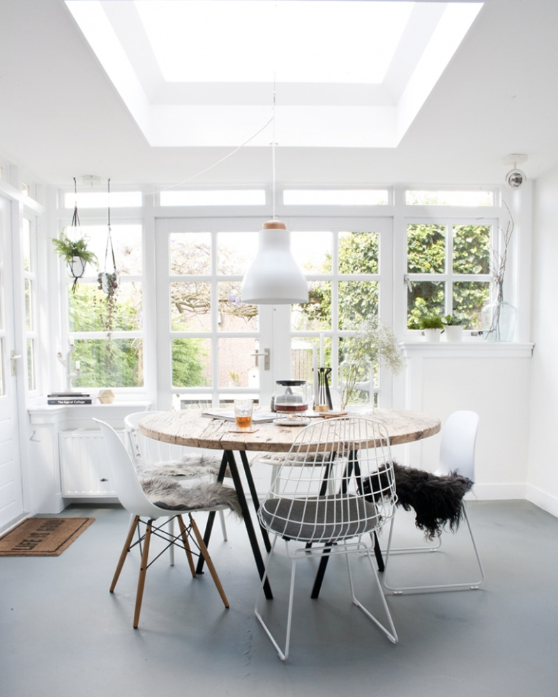 table salle à manger diy bois