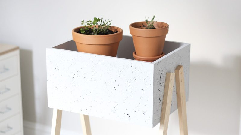 10 id es diy avec des caisses en bois shake my blog. Black Bedroom Furniture Sets. Home Design Ideas