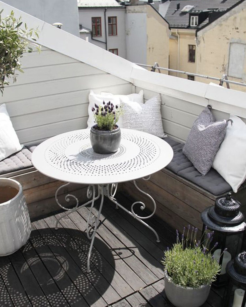 deco balcon printemps provençal