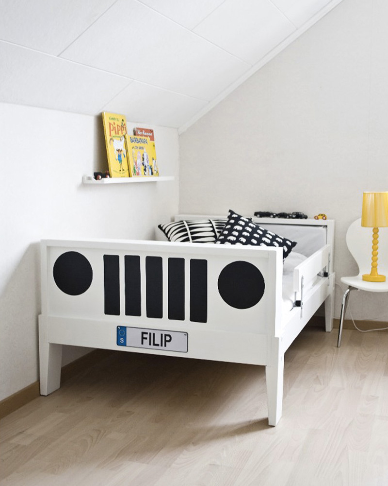 5 id es diy pour fabriquer un lit pour enfant shake my blog. Black Bedroom Furniture Sets. Home Design Ideas