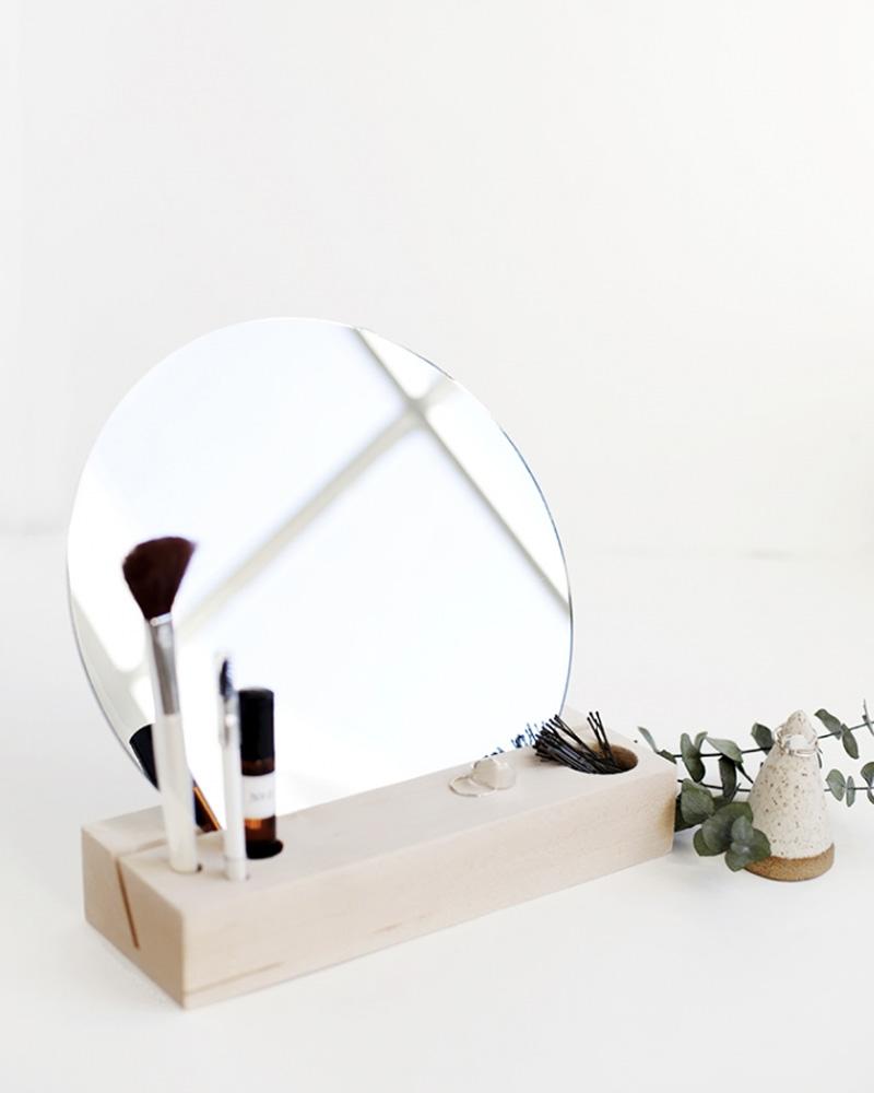 miroir diy à poser maquillage