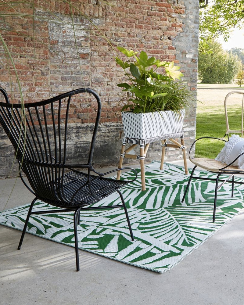 selection deco jardin tapis extérieur