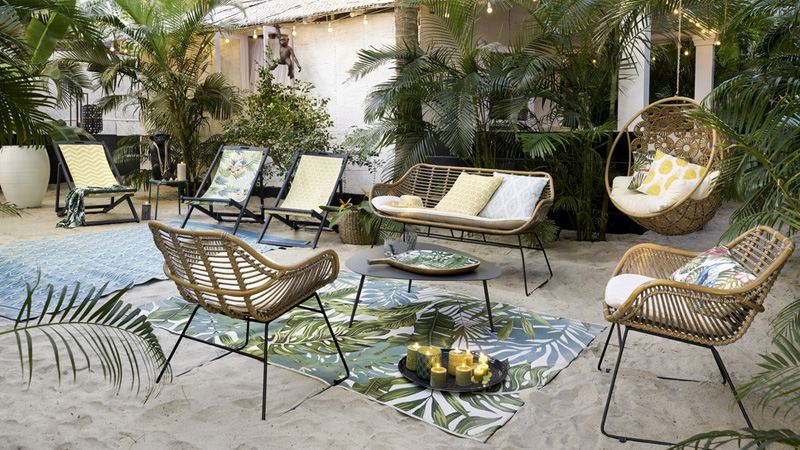 10 tapis d 39 ext rieur pour la d co de votre terrasse shake my blog. Black Bedroom Furniture Sets. Home Design Ideas