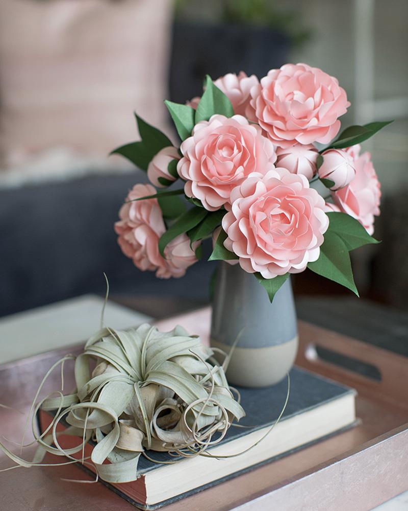 cadeau diy fete des meres savon fleurs papier