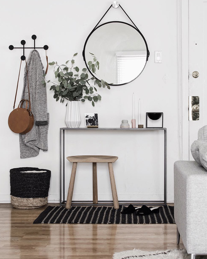 cr er une jolie d co dans votre entr e shake my blog. Black Bedroom Furniture Sets. Home Design Ideas