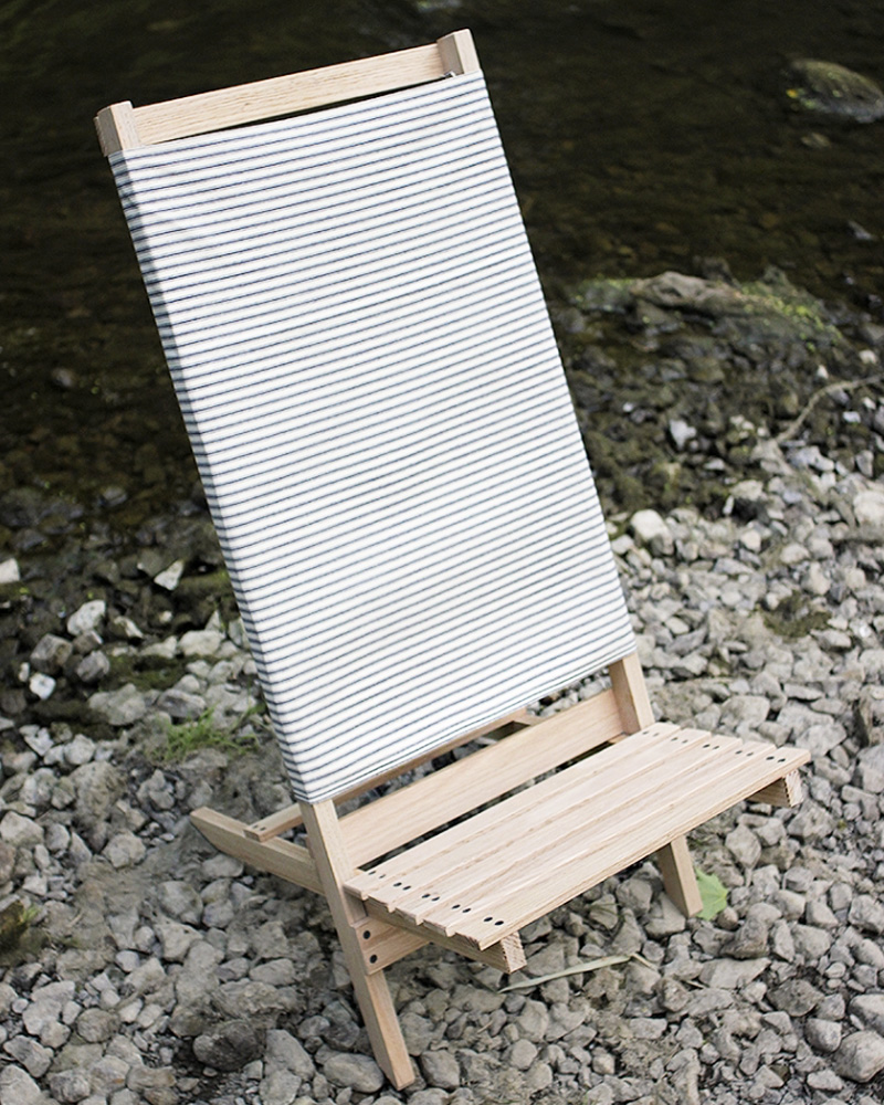 diy chaise pliante jardin