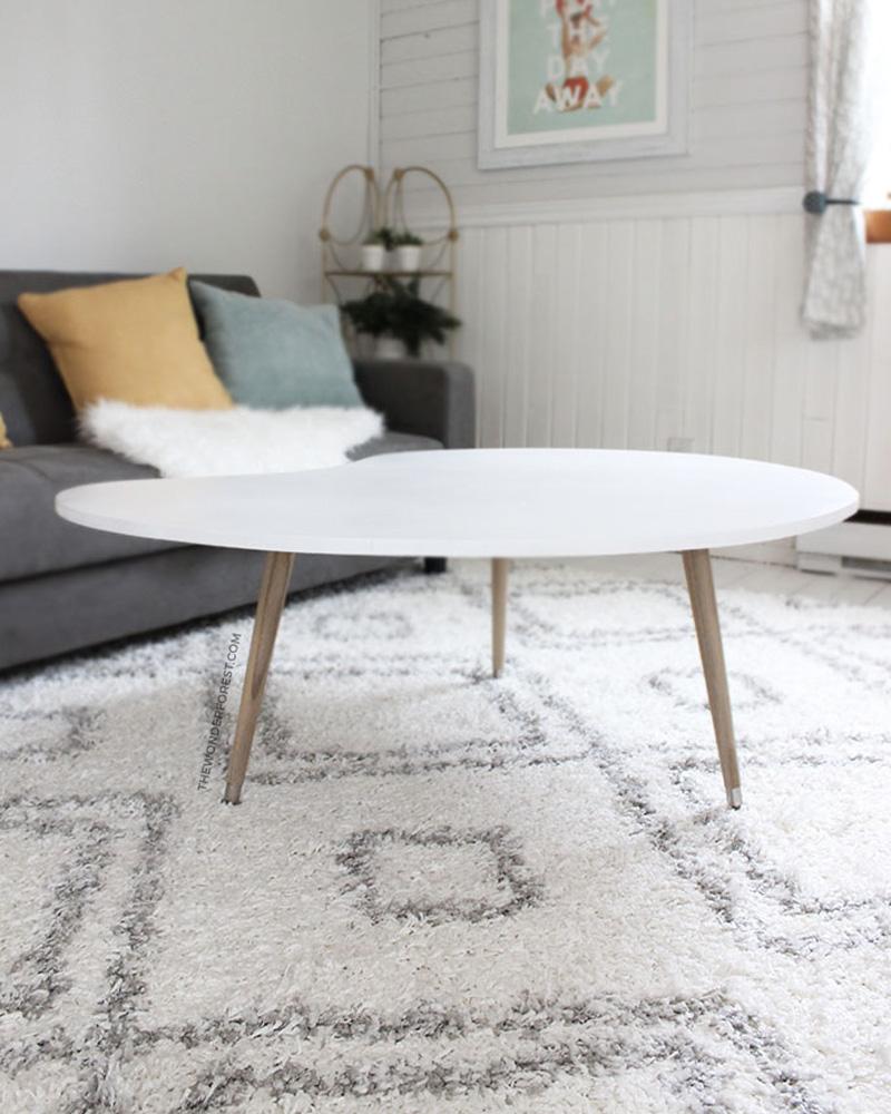 table basse diy scandinave
