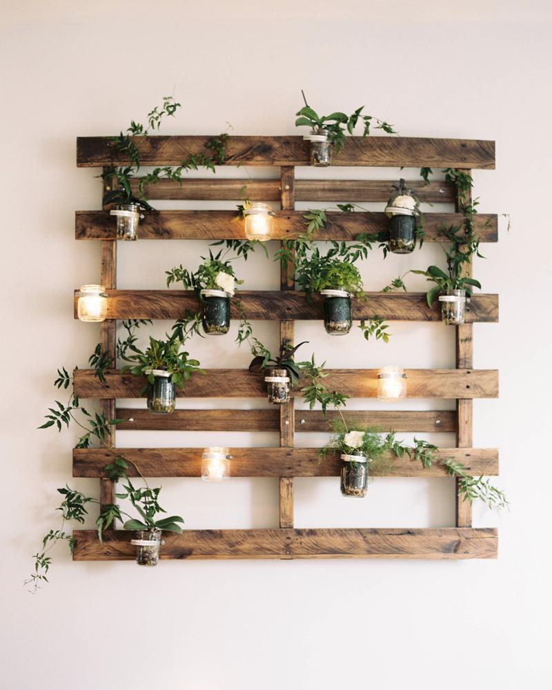 deco plante palette