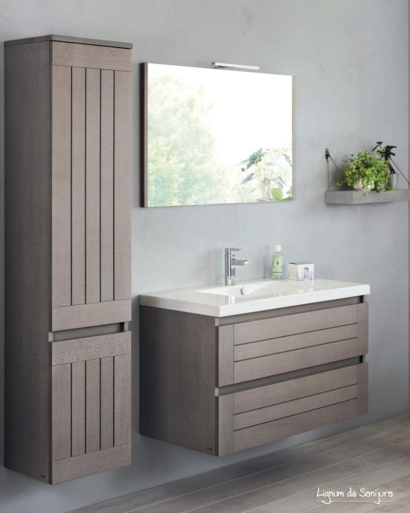 deco salle de bain bois tropical campagne