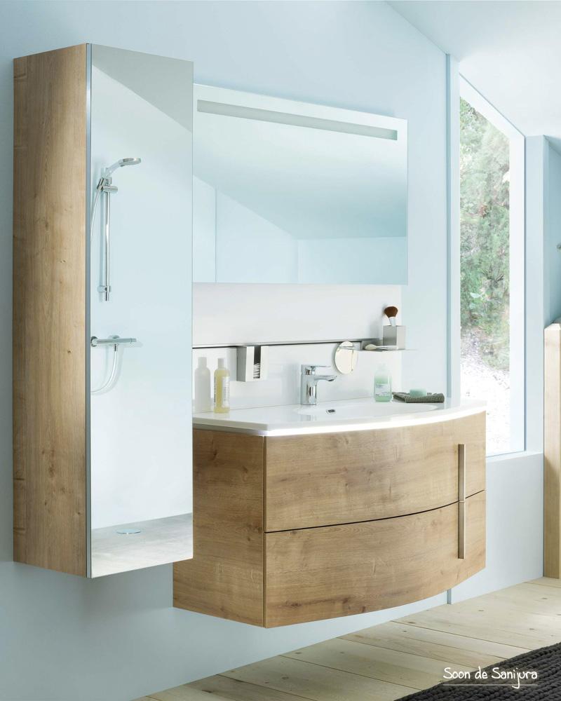 deco salle de bain bois arrondie campagne