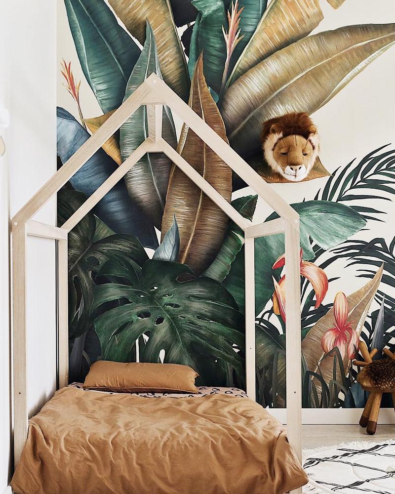 deco tropicale chambre enfant