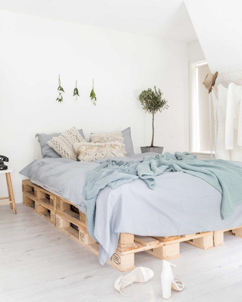 10 idées diy pour créer un lit en palette | shake my blog