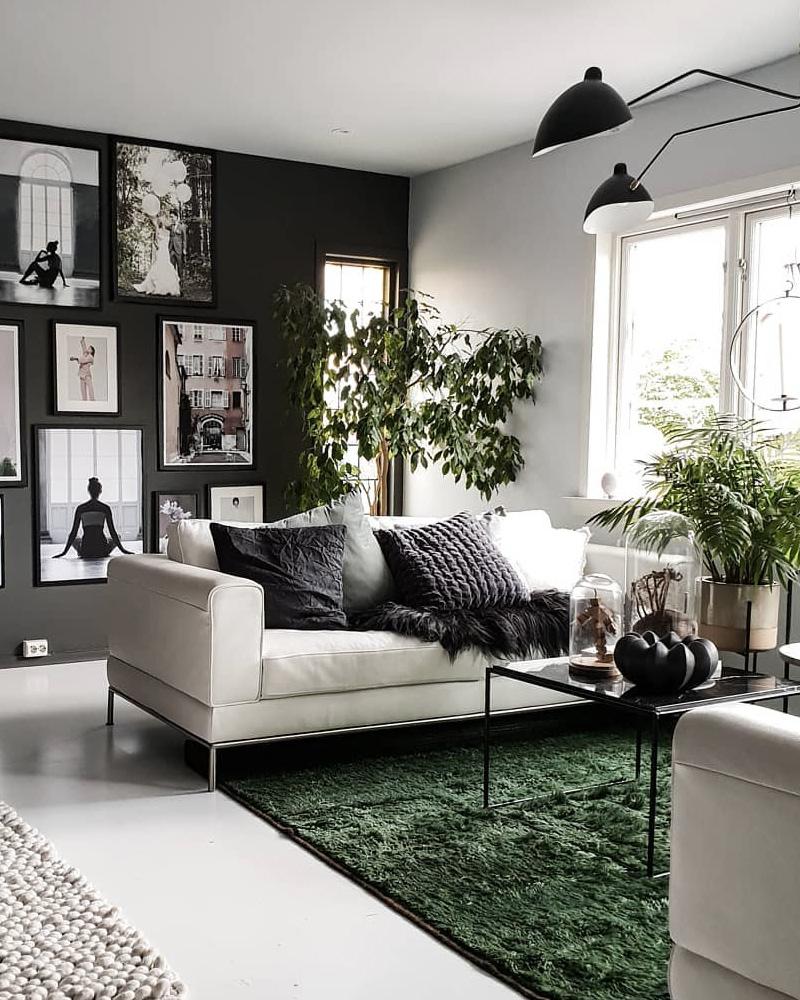 Comment décorer votre salon avec le gris et le blanc ? | Shake My Blog