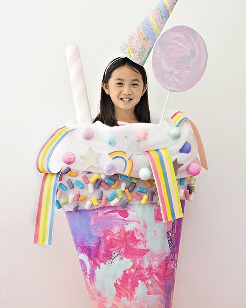 déguisement halloween diy enfant glace