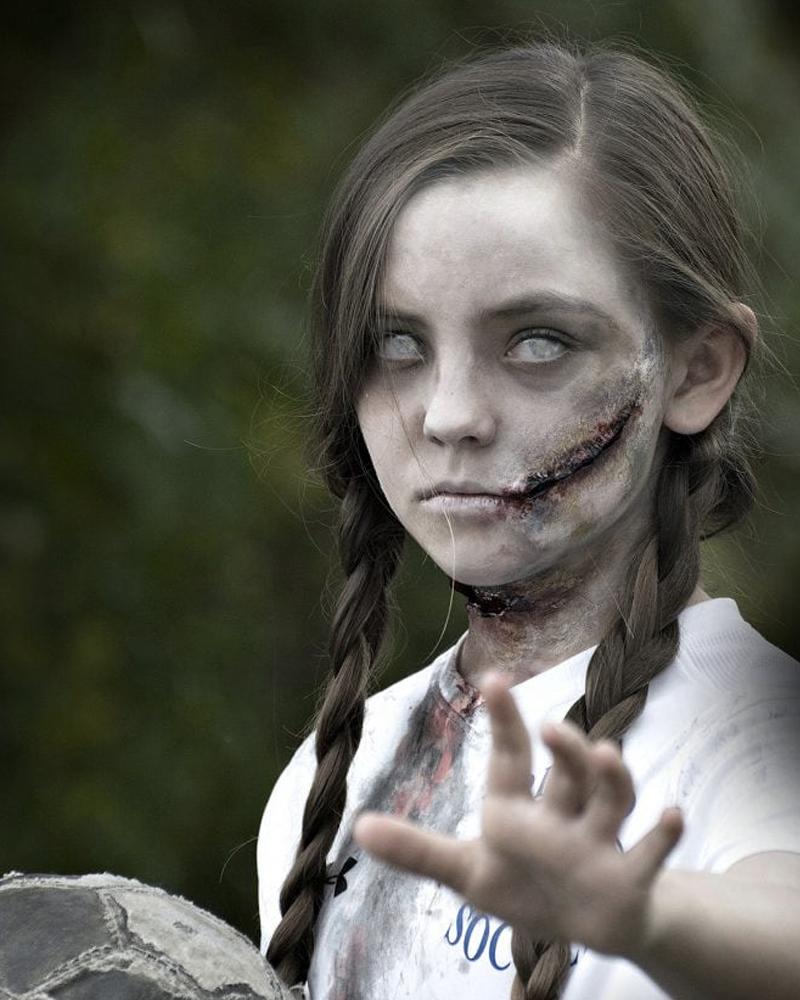 déguisement halloween diy enfant mort vivant