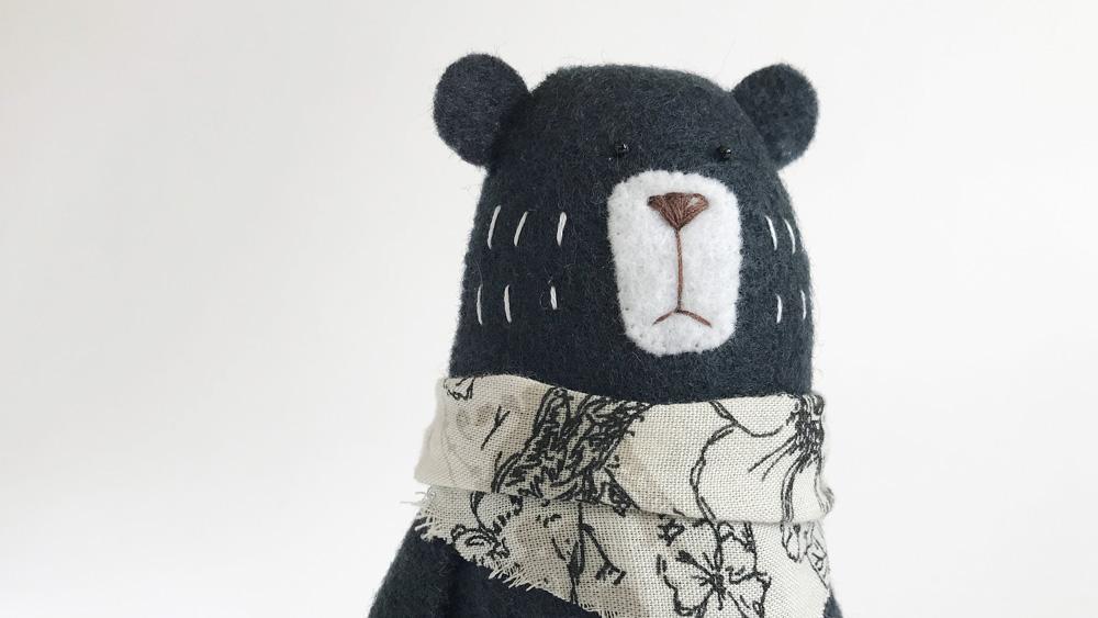 peluche diy enfant ours