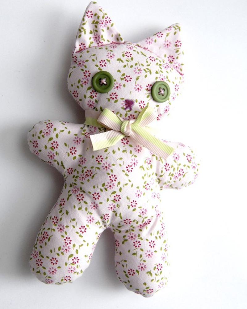 peluche diy enfant chat