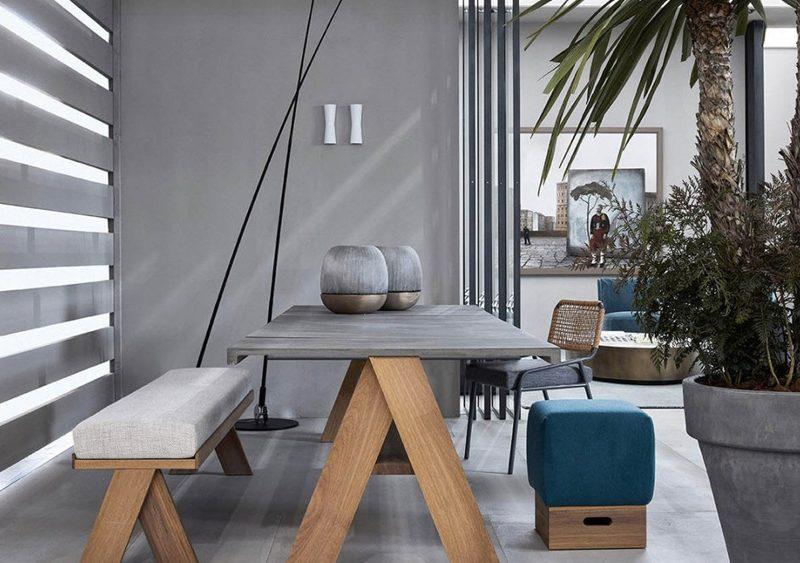 table sur mesure beton lilm