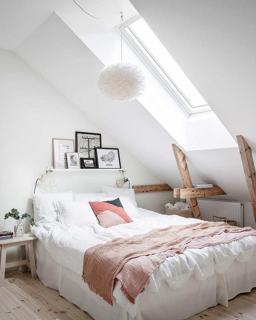 deco appartement naturel lumineux chambre
