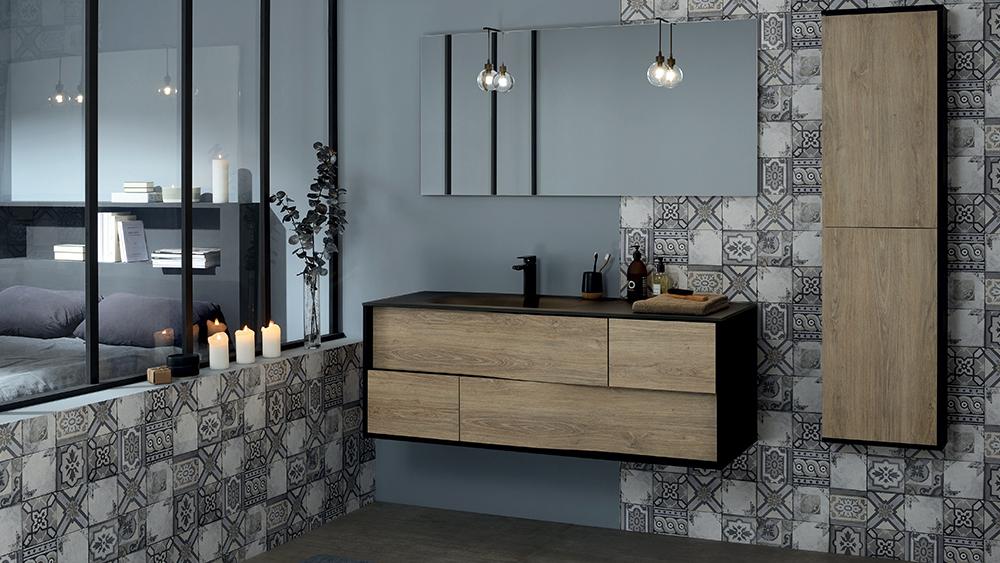 5 astuces d co pour une salle de bain esprit industriel. Black Bedroom Furniture Sets. Home Design Ideas