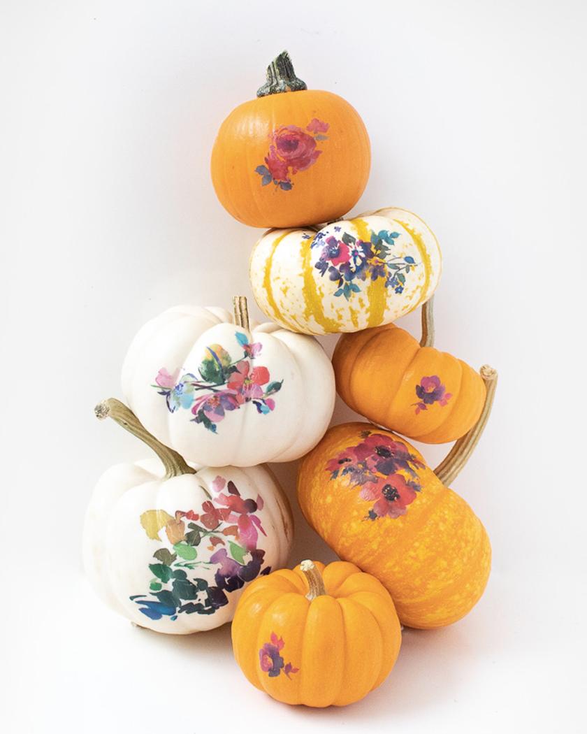 diy citrouille halloween tatouage