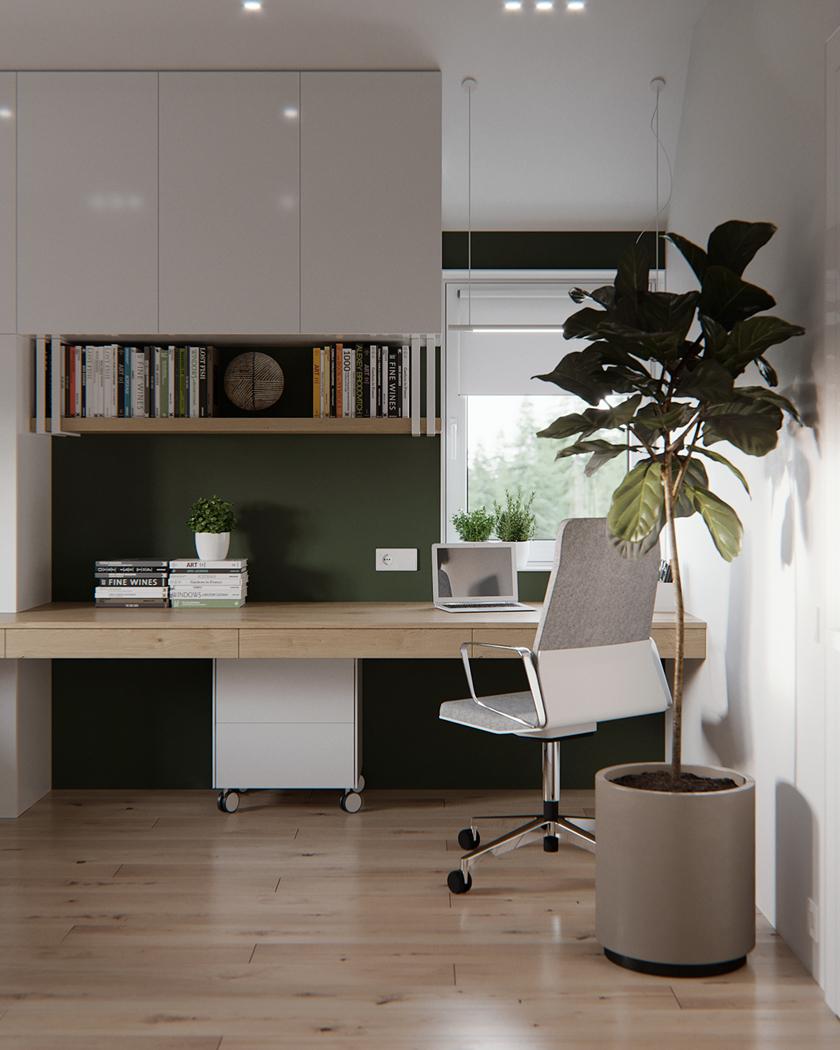 aménager petit bureau chaise ergonomique