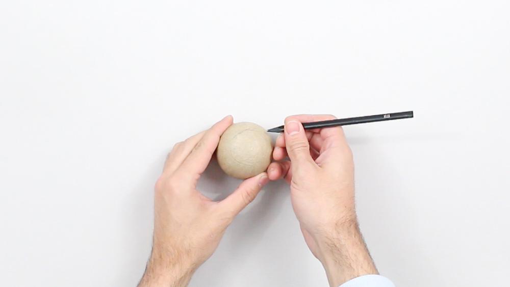 calendrier avent diy boules papier maché