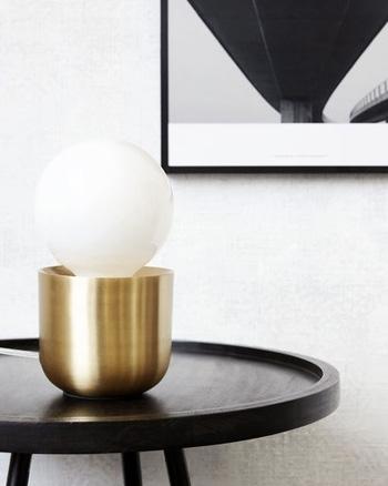 lampe en laiton