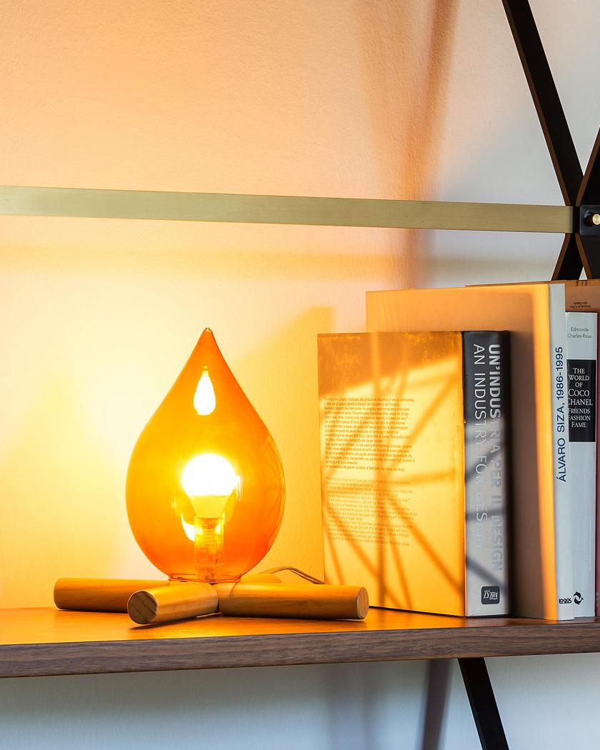 deco zeeloft petit prix lampe fire