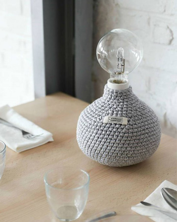 lampe tricot